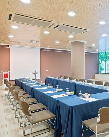 The Sercotel Los Llanos Hotel has three partitionable function rooms ...